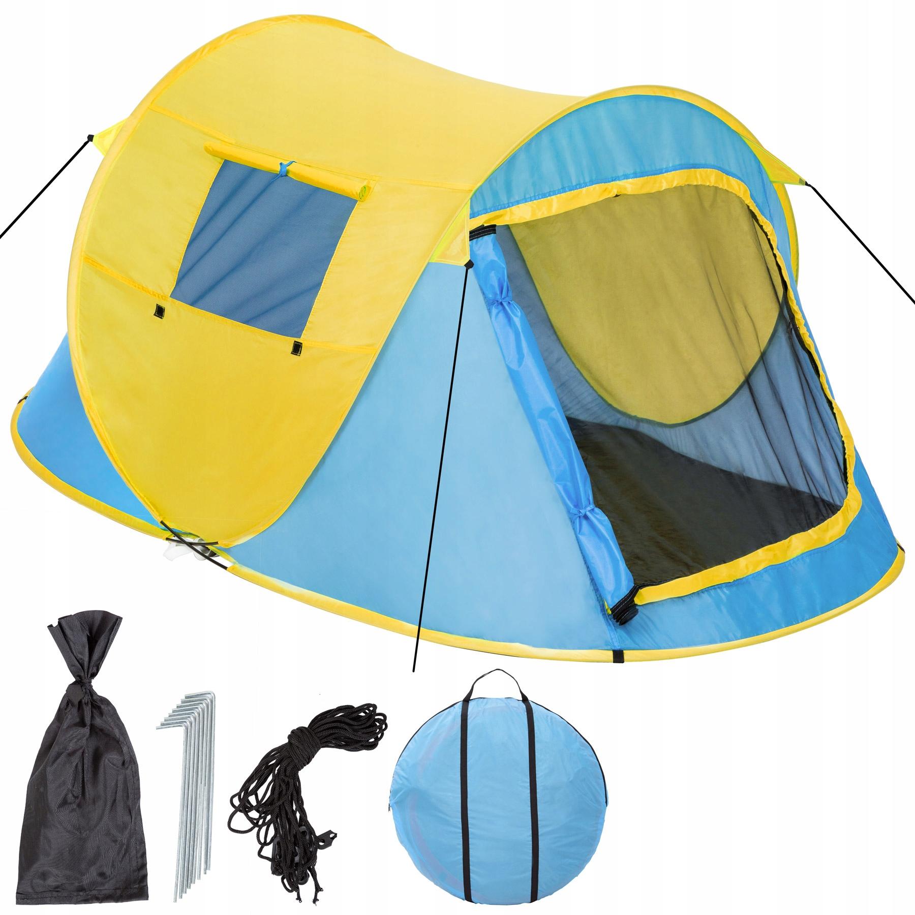 Samorozkładający namiot turystyczny 2 osob. 401673