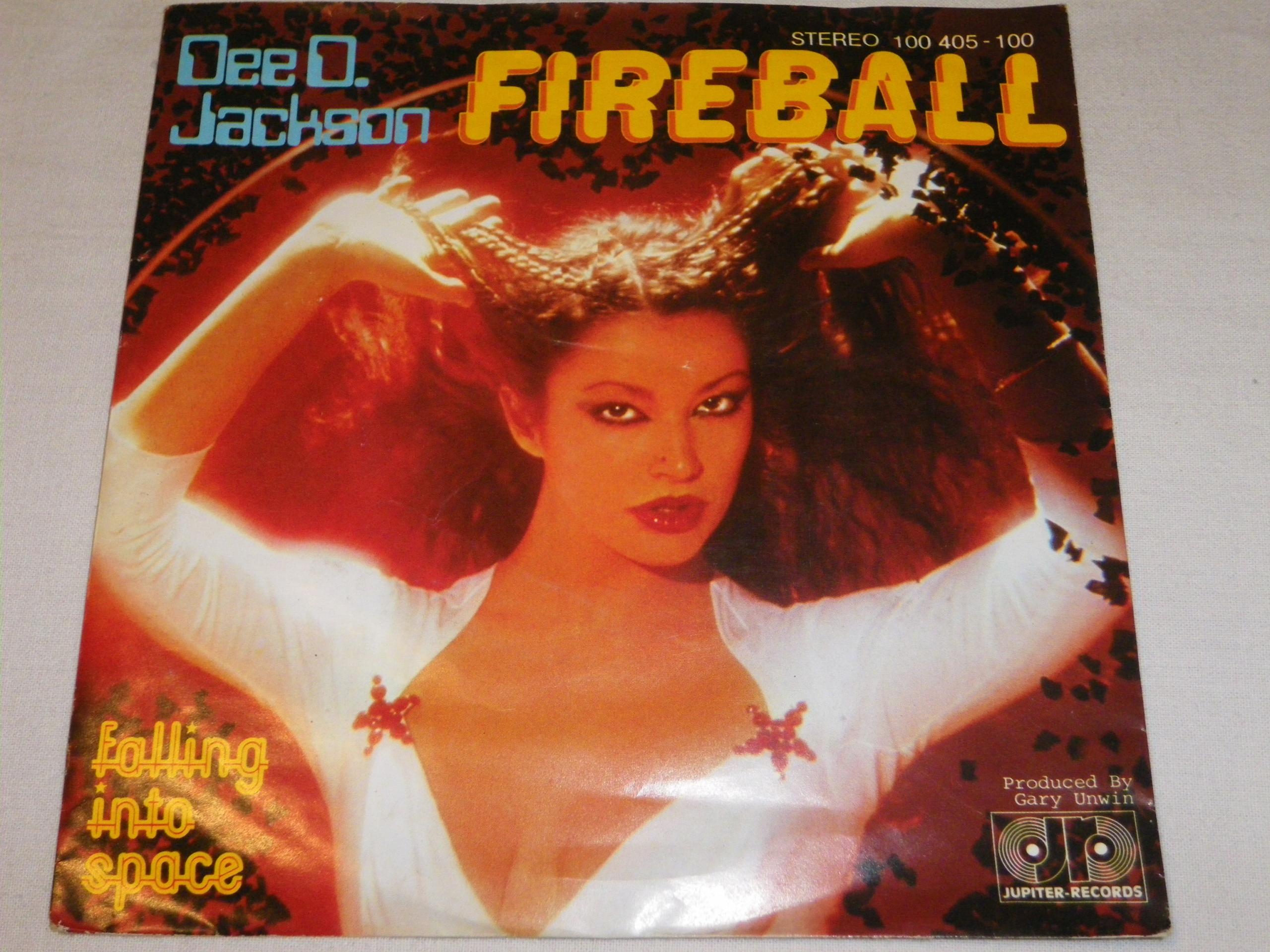 Dee O.Jackson- Fireball SP 7''