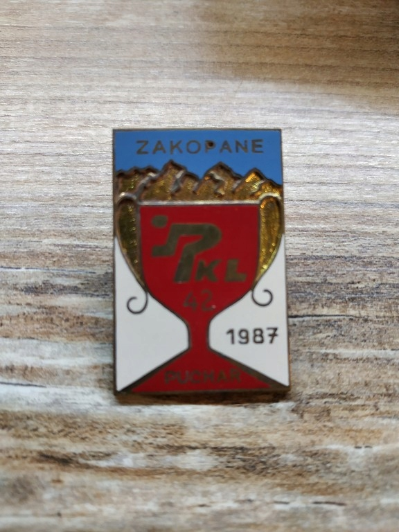 przypinka 42 Puchar PKL Zakopane 1987