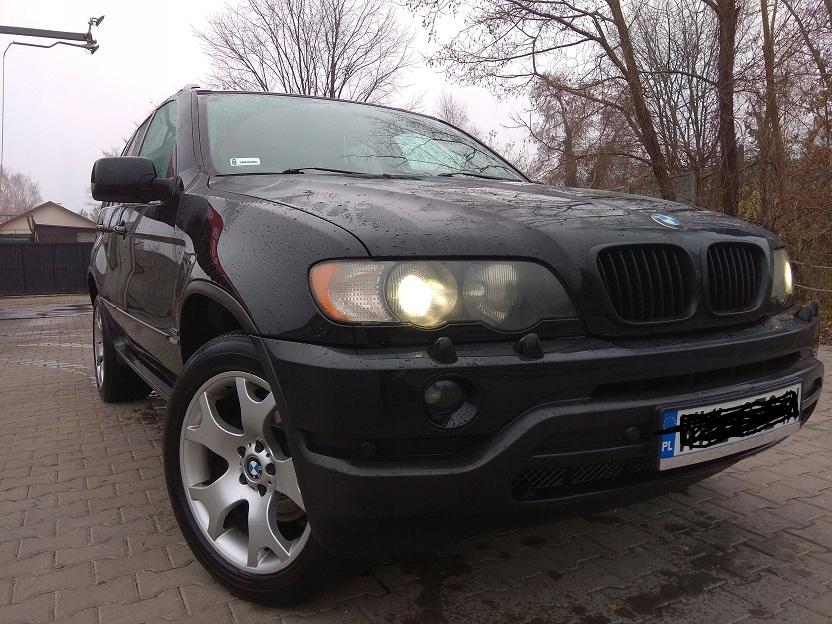 BMW X5 3.0 d zadbany bogate wyposazenie