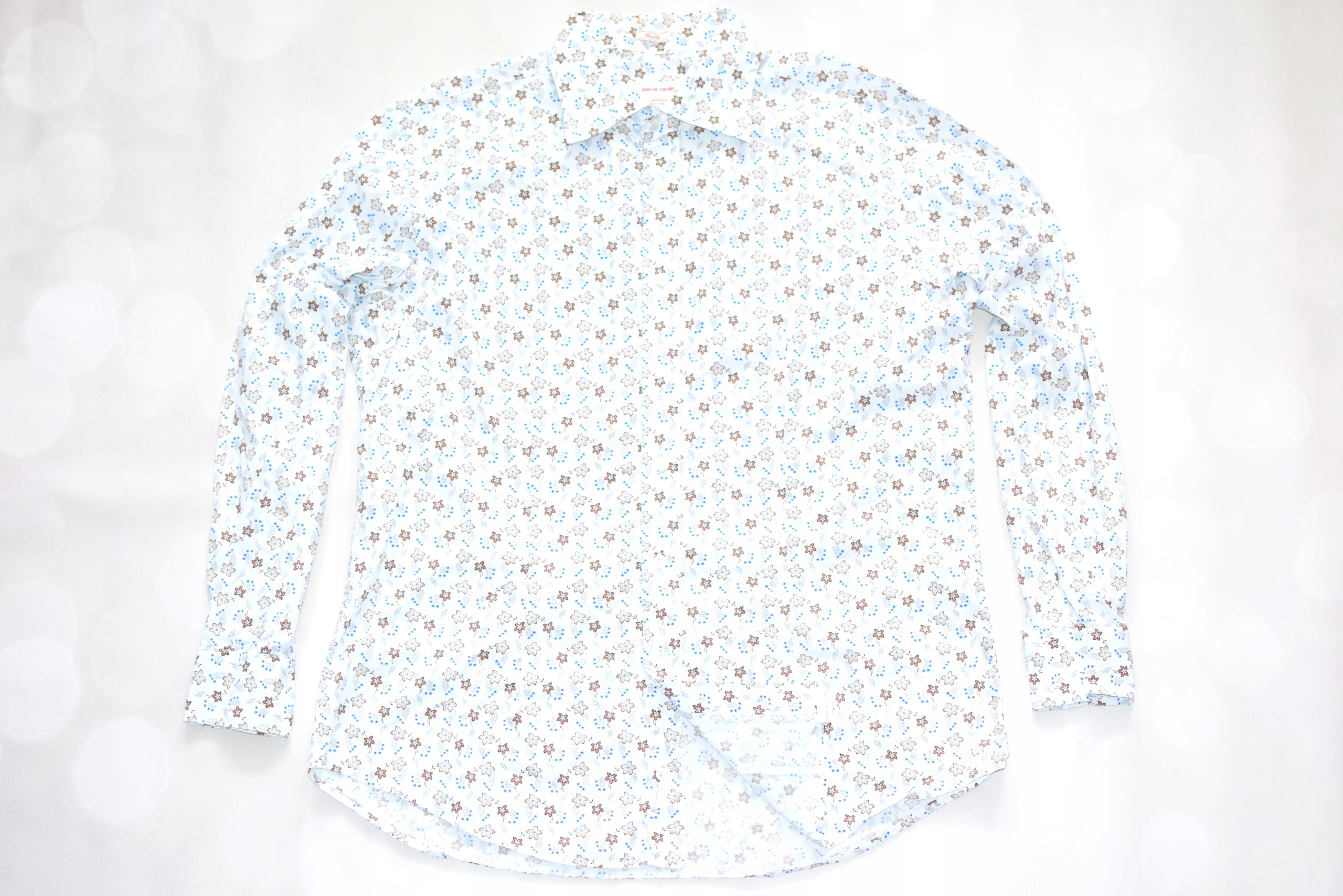 PIERRE CARDIN _ FLOWERS _ SMART CUT _ Koszula