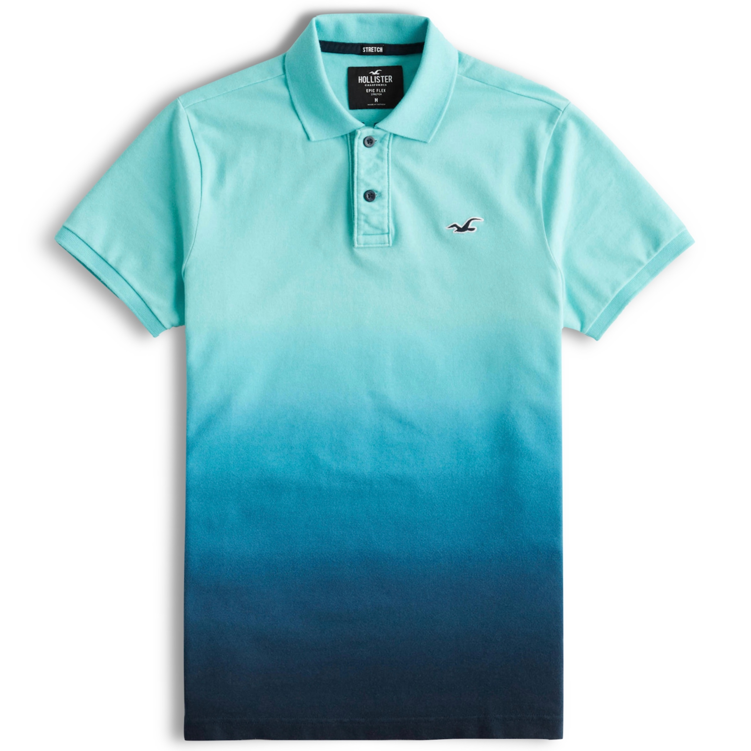 HOLLISTER polo męskie Stretch Slim Fit USA roz. M