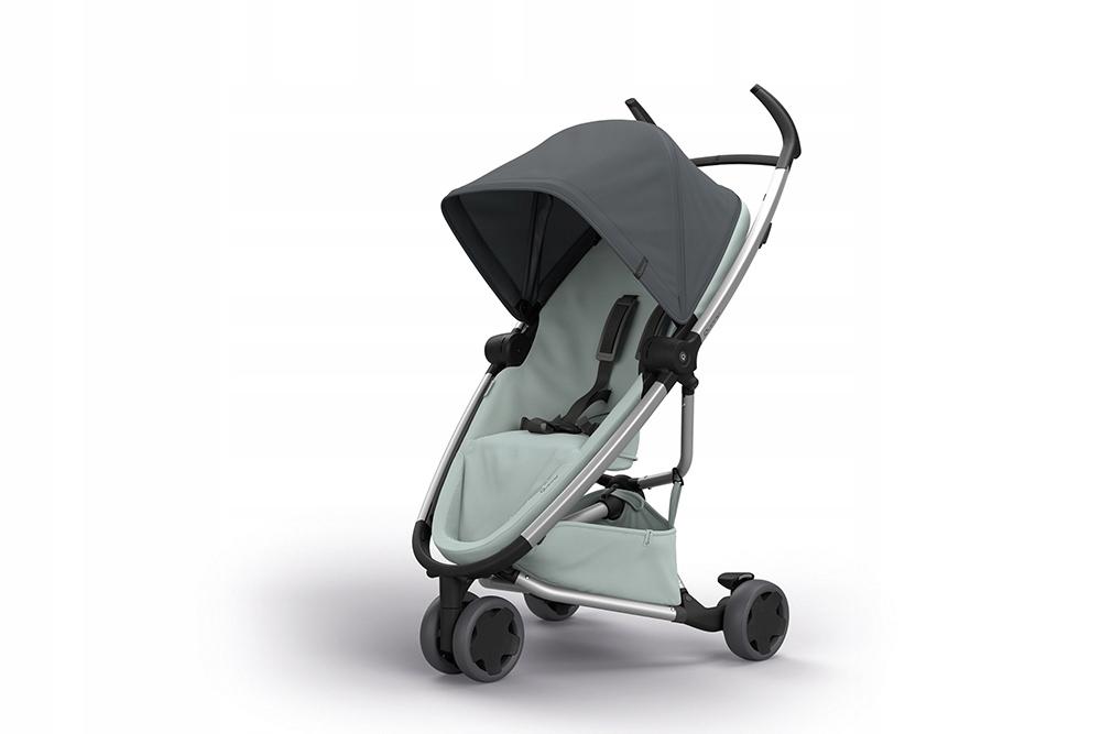 QUINNY wózek spacerowy ZAPP FLEX + folia + ad Grey