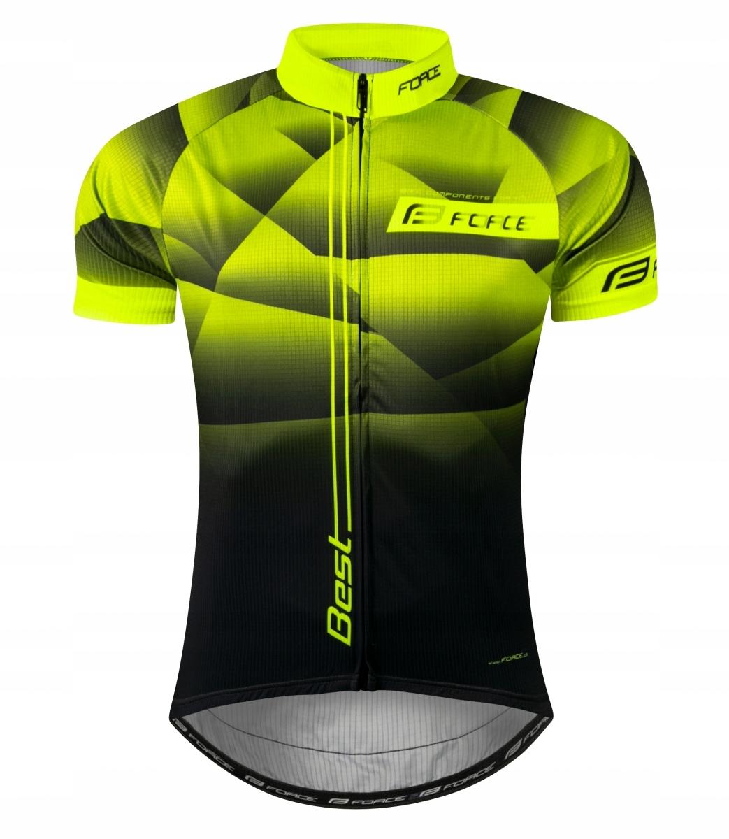 FORCE BEST koszulka rowerowa 3XL