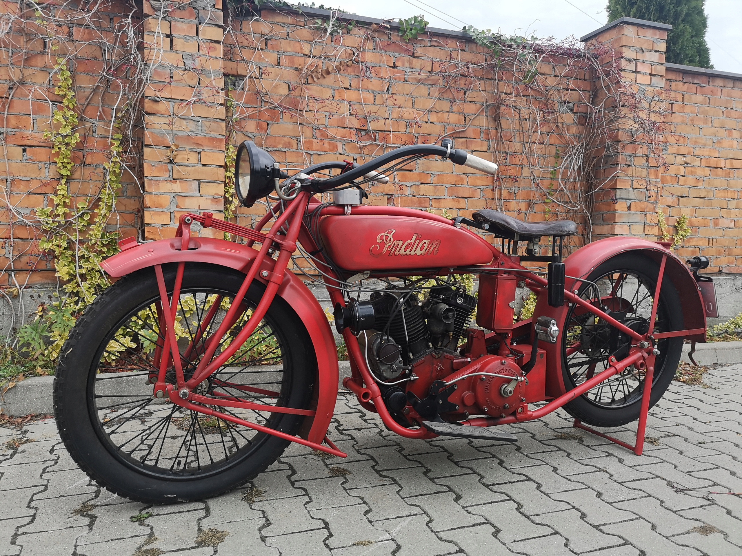 INDIAN CHIEF 1924
