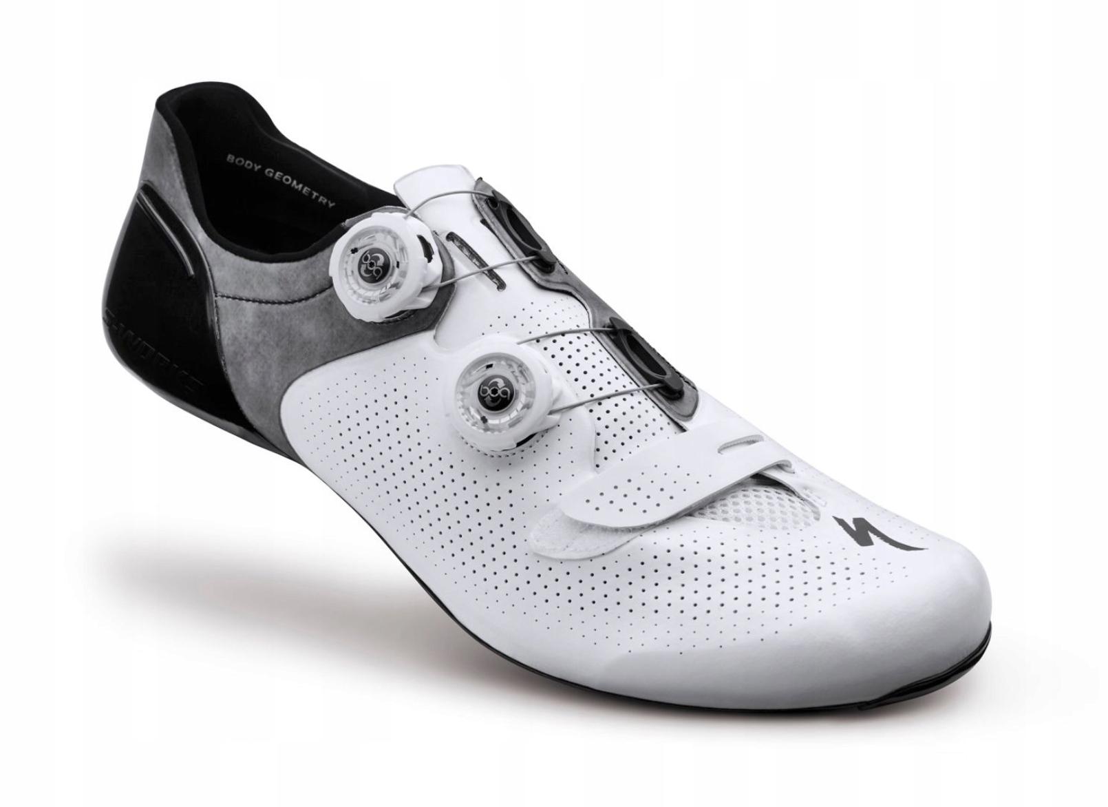 Buty szosowe S-Works 42 białe BCM nowe