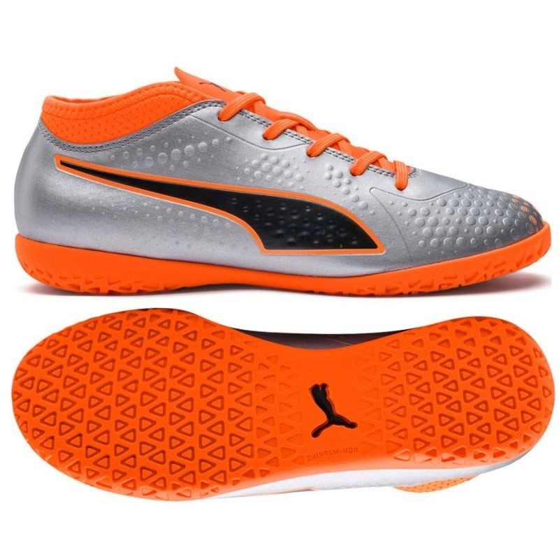 Buty halowe Puma One 4 Syn IT Jr 104783 01 - 36