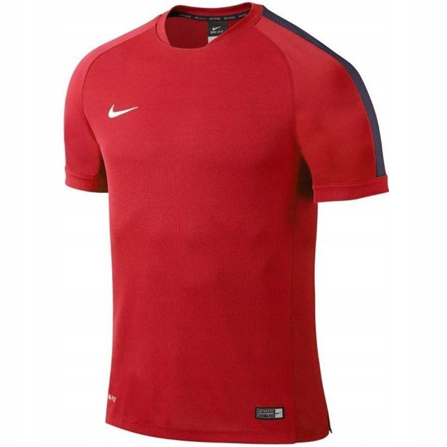 Koszulka Nike Flash Training Top Boys M czerwony