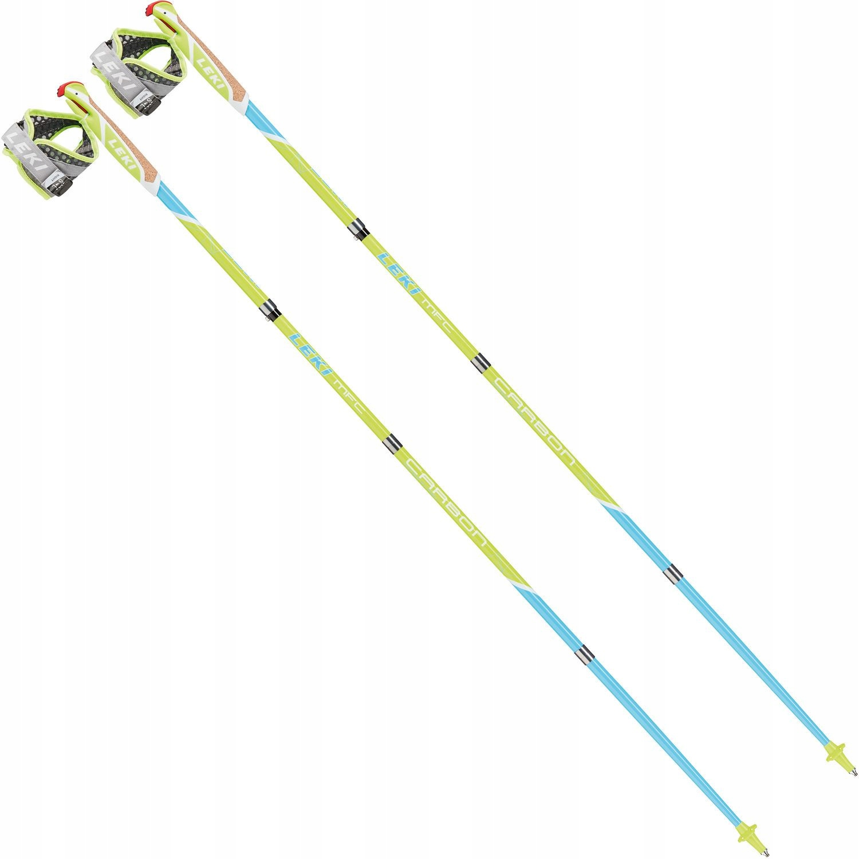 KIJE NORDIC WALKING MICRO FLASH CARBON LEKI 130cm