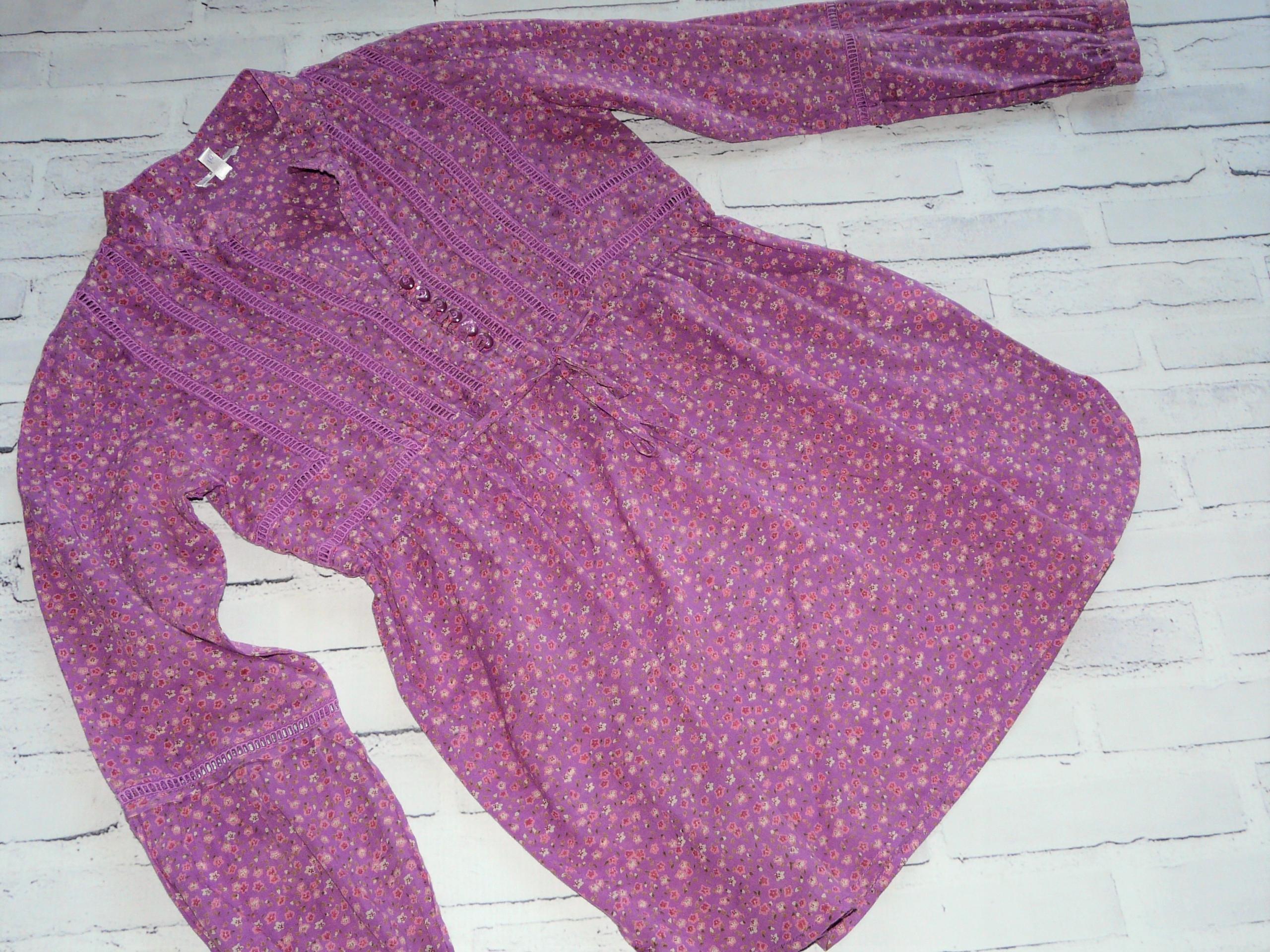 MAYORAL CHIC fioletowa tuniczka łączka 10L