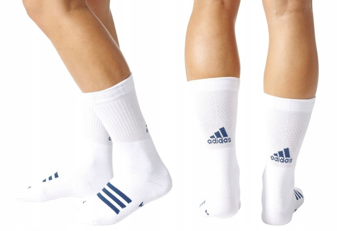 Adidas Tennis Crew Socks skarpety tenisowe - 43/45
