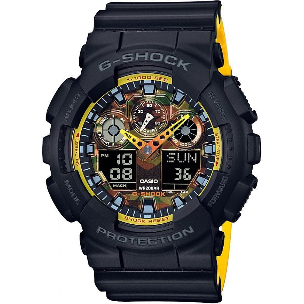 Zegarek Casio G-Shock GA-100BY-1A+GRAWER