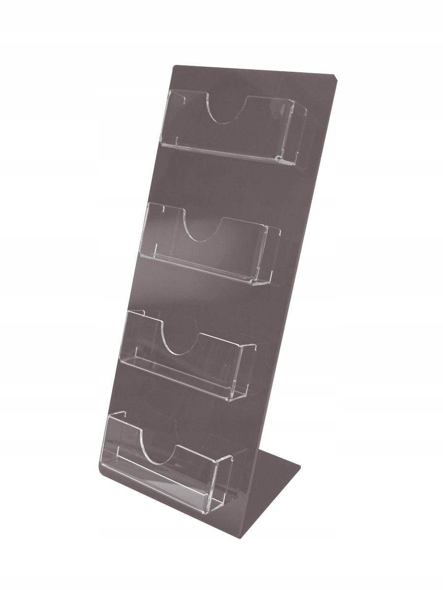 WIZYTOWNIK stojak na wizytówki KOLORY PLEXI 3 mm