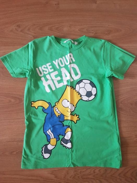 T-shirt koszulka Bart Simpson H&M