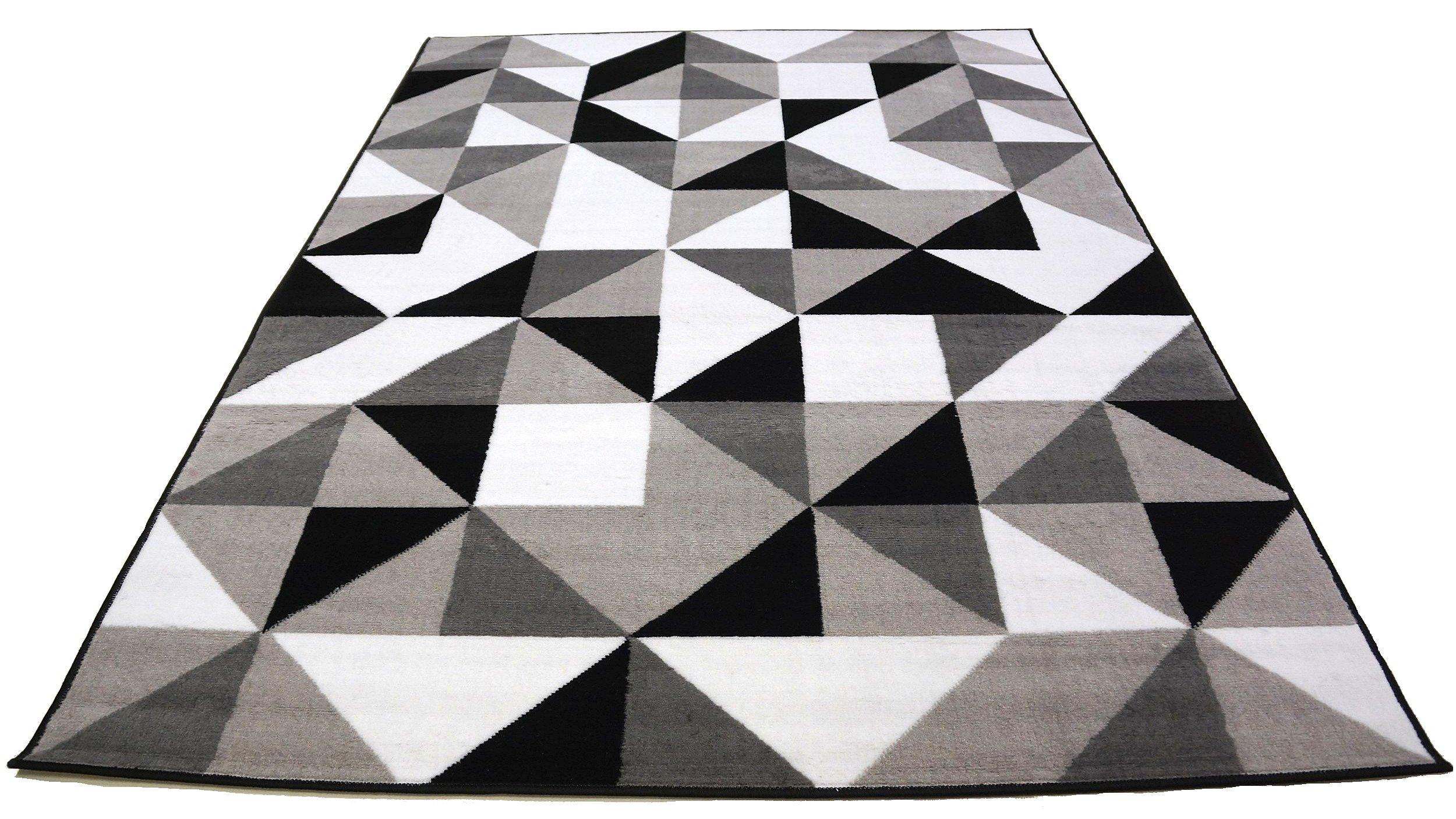 Dywan Bcf 150x210 Płasko Tkany Mix Wzorów Kolory