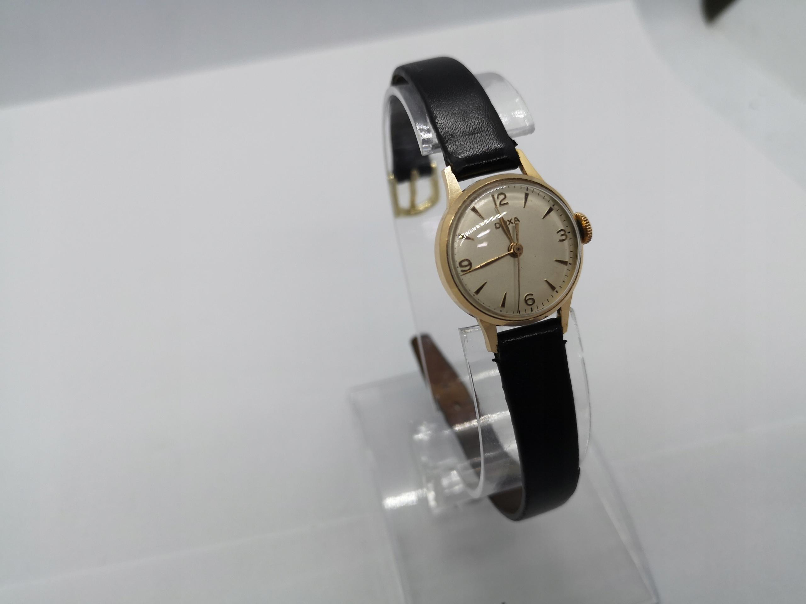 Damski Złoty Zegarek Doxa 13714 14K 9482W
