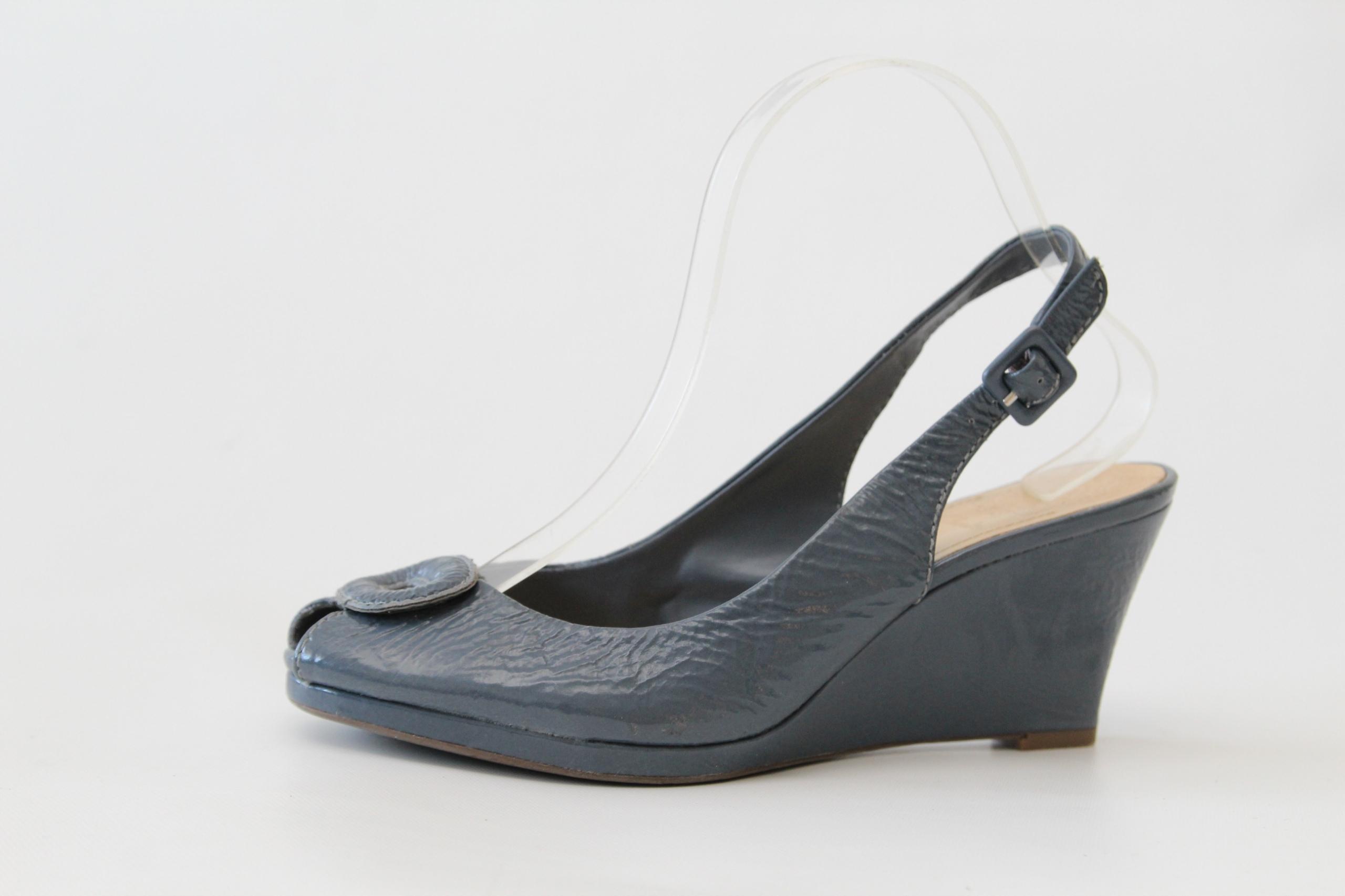 CLARKS - skórzane sandały r. 40 (25 cm)