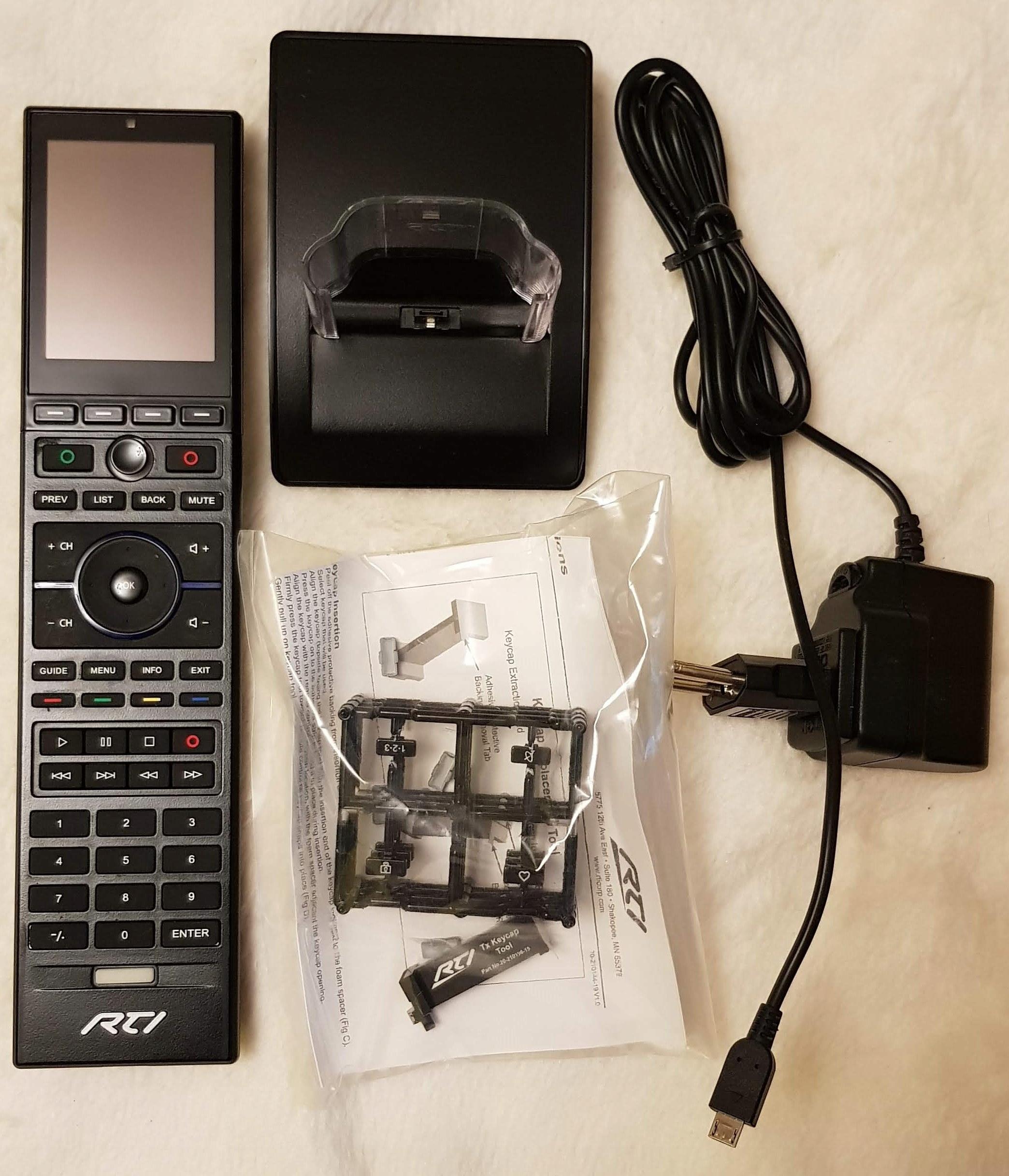 RTI T2X 2,8' Remote Control PILOT MULTIMEDIALNY