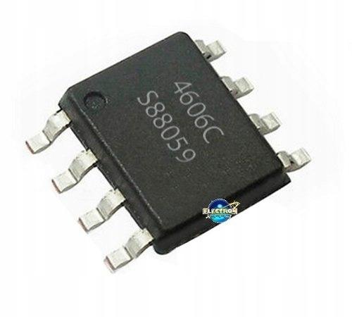 AO4606C = AO4606 = MT4606 nowy układ