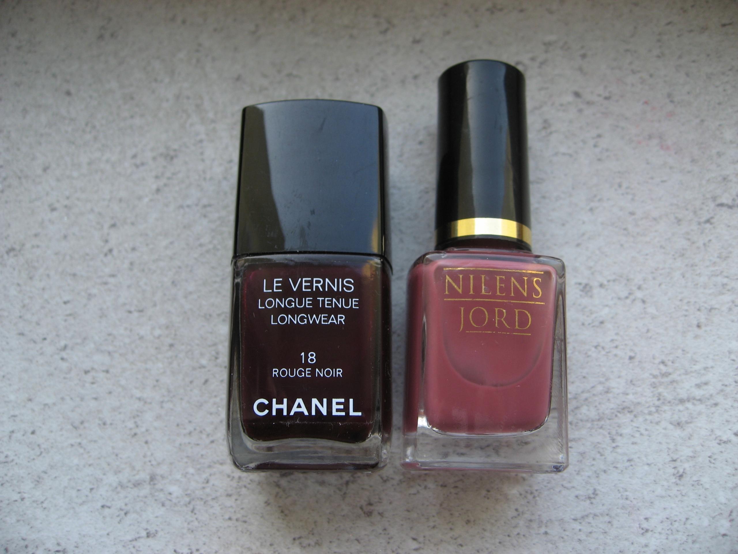 Chanel Le Vernis 18 + N.Jord 689 - lakiery zestaw
