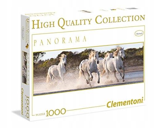 Clementoni 39371 Panorama HQC Running Horses Puzzl