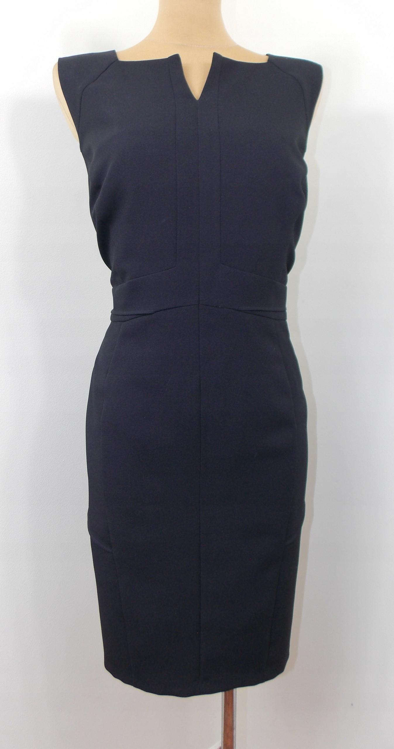 sukienka ATMOSPHERE klasyczna ołówkowa biuro 46