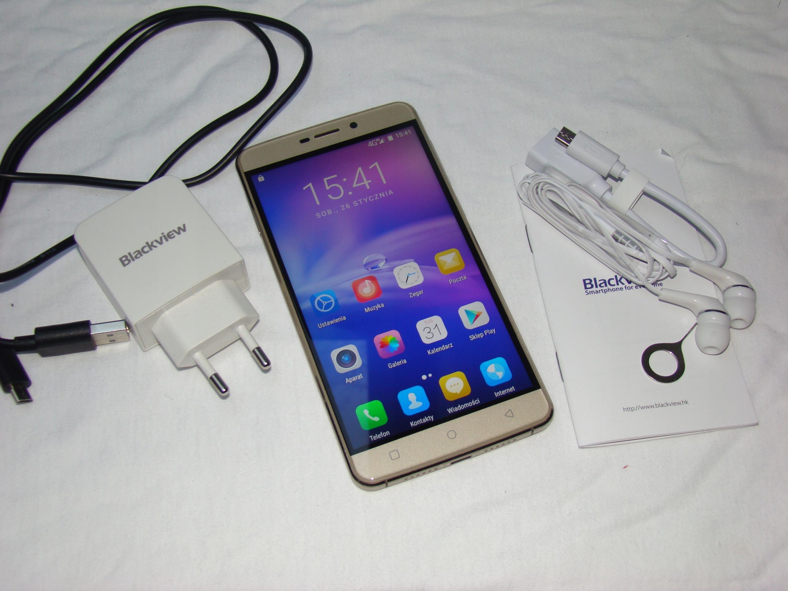 """Smartfon Blackview R7 - 5.5"""" 4G LTE Stan BDB"""