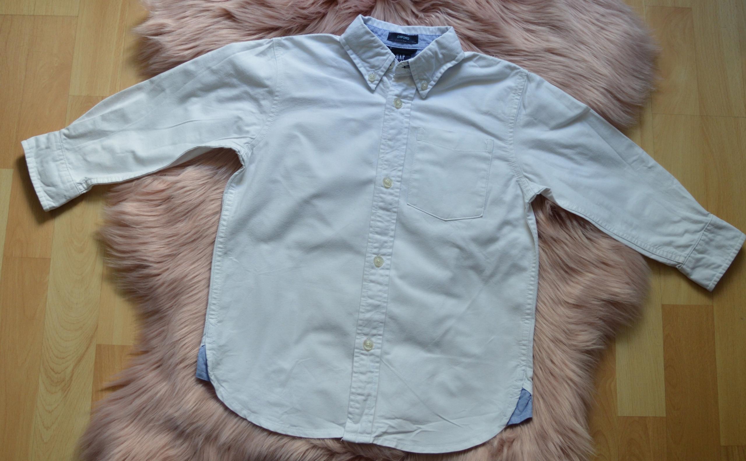 biała koszula GAP Kids OXFORD 4-5 lat 110cm