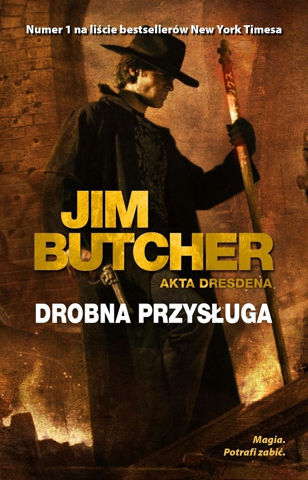 Drobna przysługa Jim Butcher