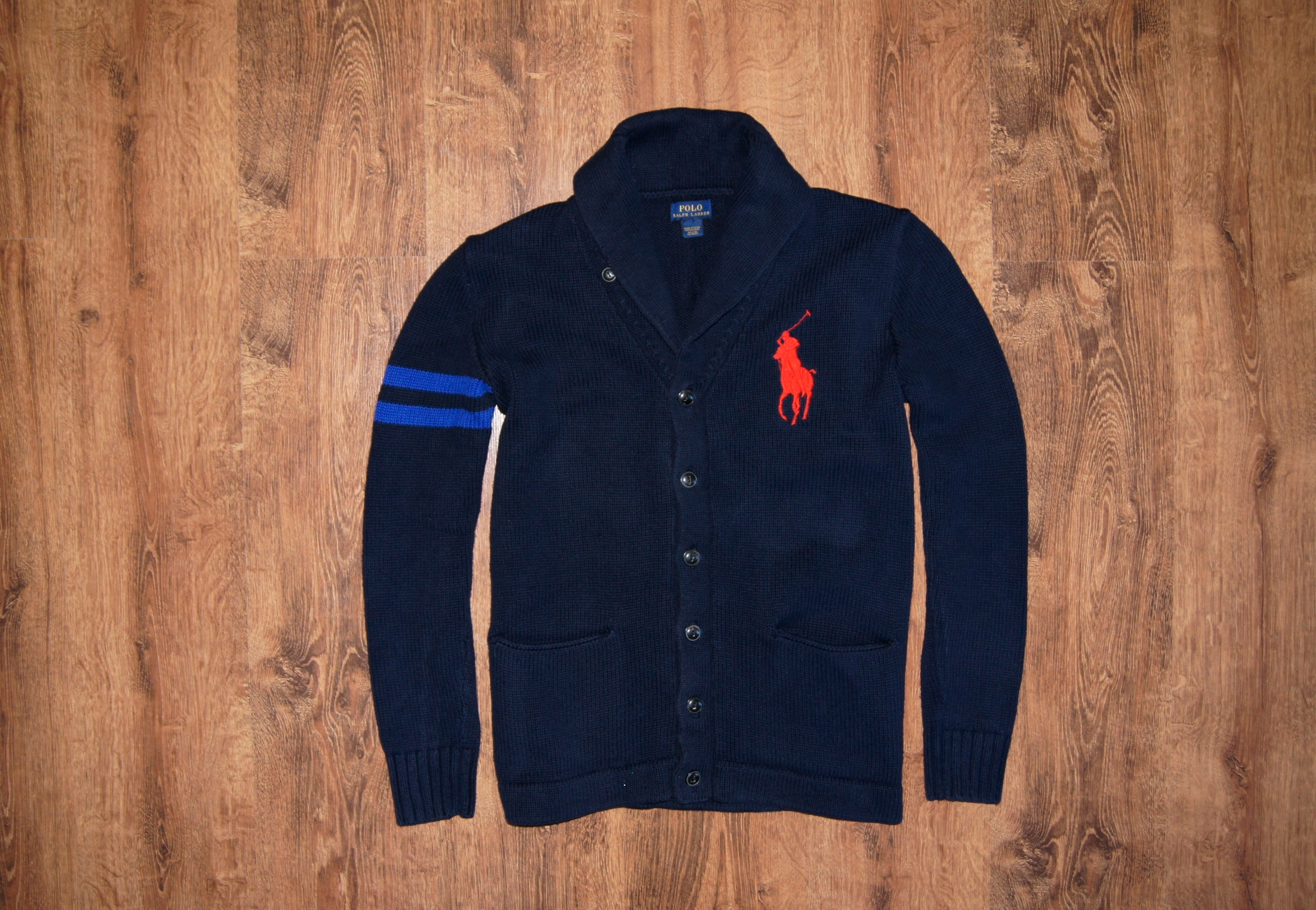 POLO by RALPH LAUREN ORYGINAL CARDIGAN NEW MODEL M