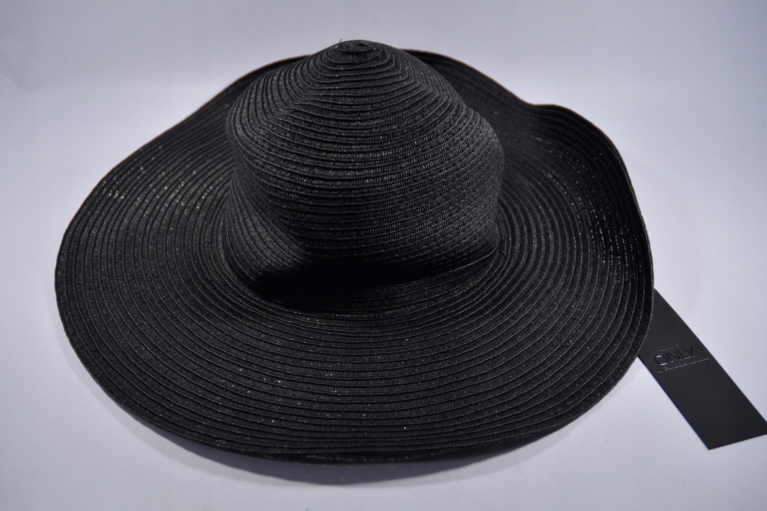 AkS1* Only kapelusz słomkowy One Size