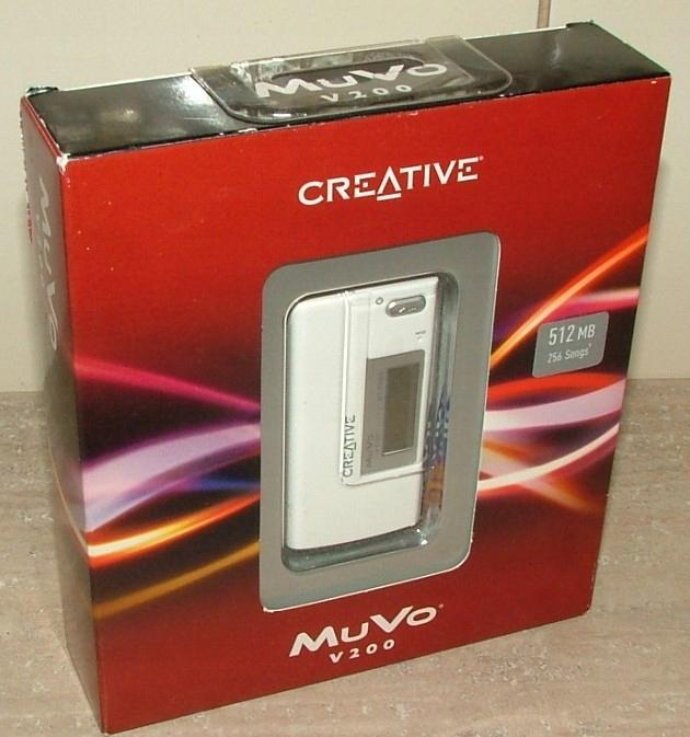 CREATIVE MuVo V200 512MB STAN FABRYCZNY KOLEKCJA
