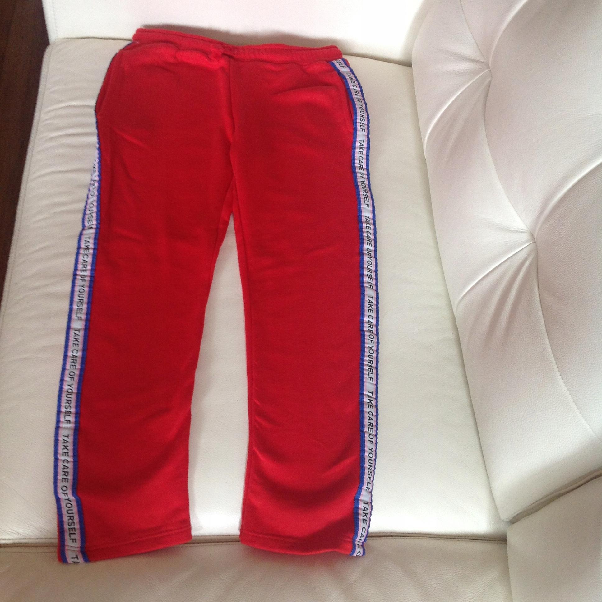 Spodnie dresowe ZARA raz ubrane r 134