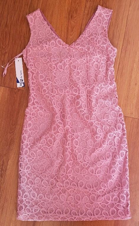 b58763e2d64e6a sukienka De Facto, nowa, gipiura - 7862330403 - oficjalne archiwum ...