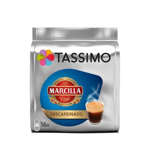 TASSIMO Marcilla kawa bezkofeinowa 16 kapsli 30382