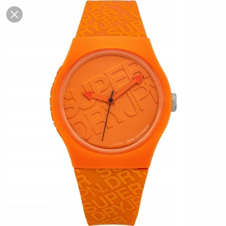 zegarek superdry orange hełmy 1690 unisex