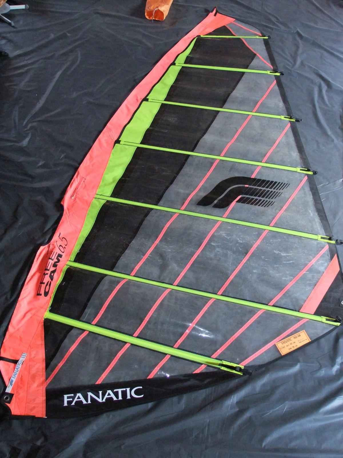 Żagiel do windsurfingu FANATIC .-pow.6,5 m