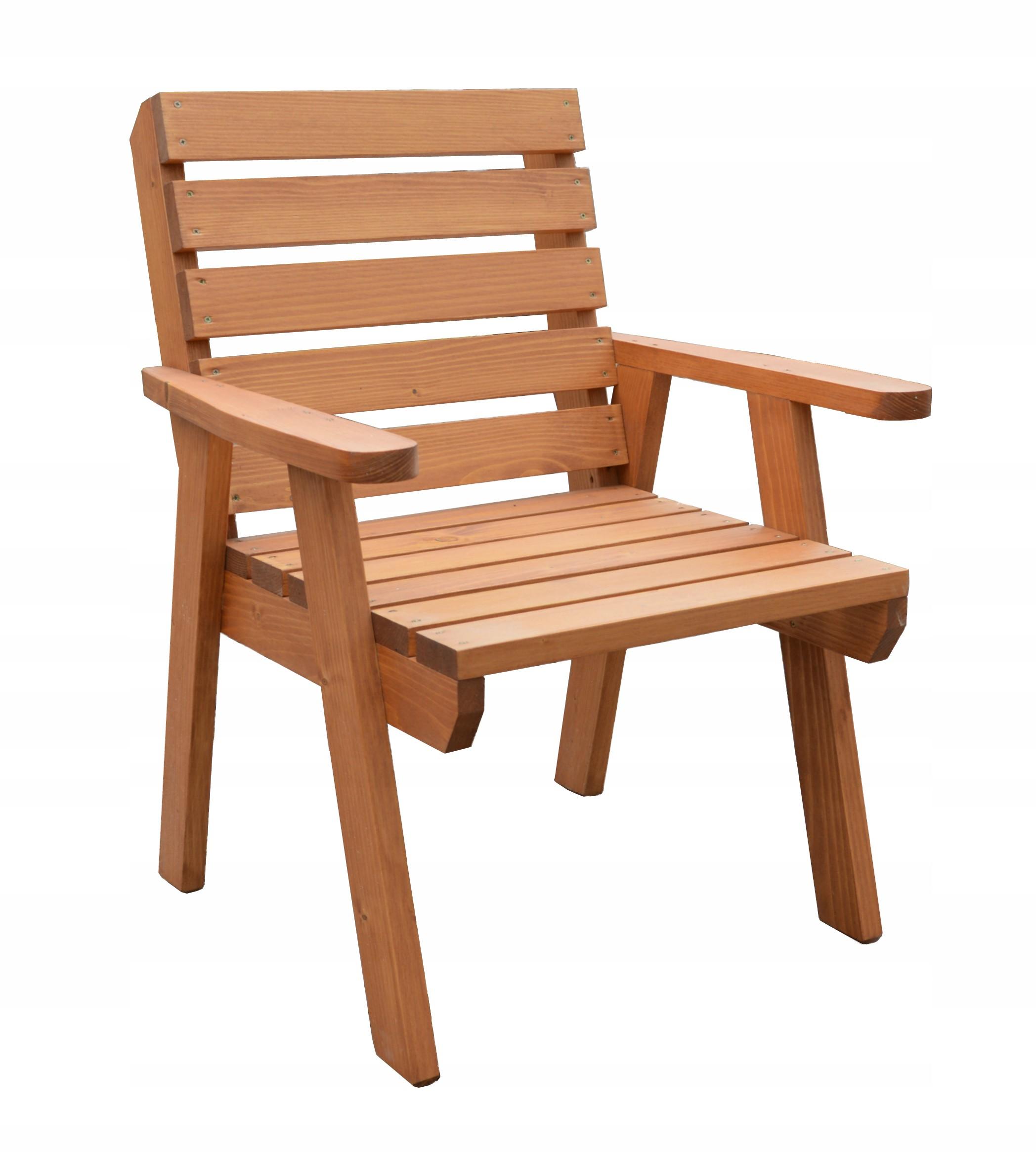 Fotel Ogrodowy Drewniany Krzesło Drewno Magnolia
