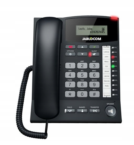 JABLOCOM GDP-06 Telefon bramka GSM LED Bateria GW