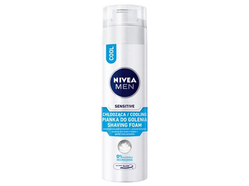 Nivea Men Sensitive Cool pianka do golenia 200ml