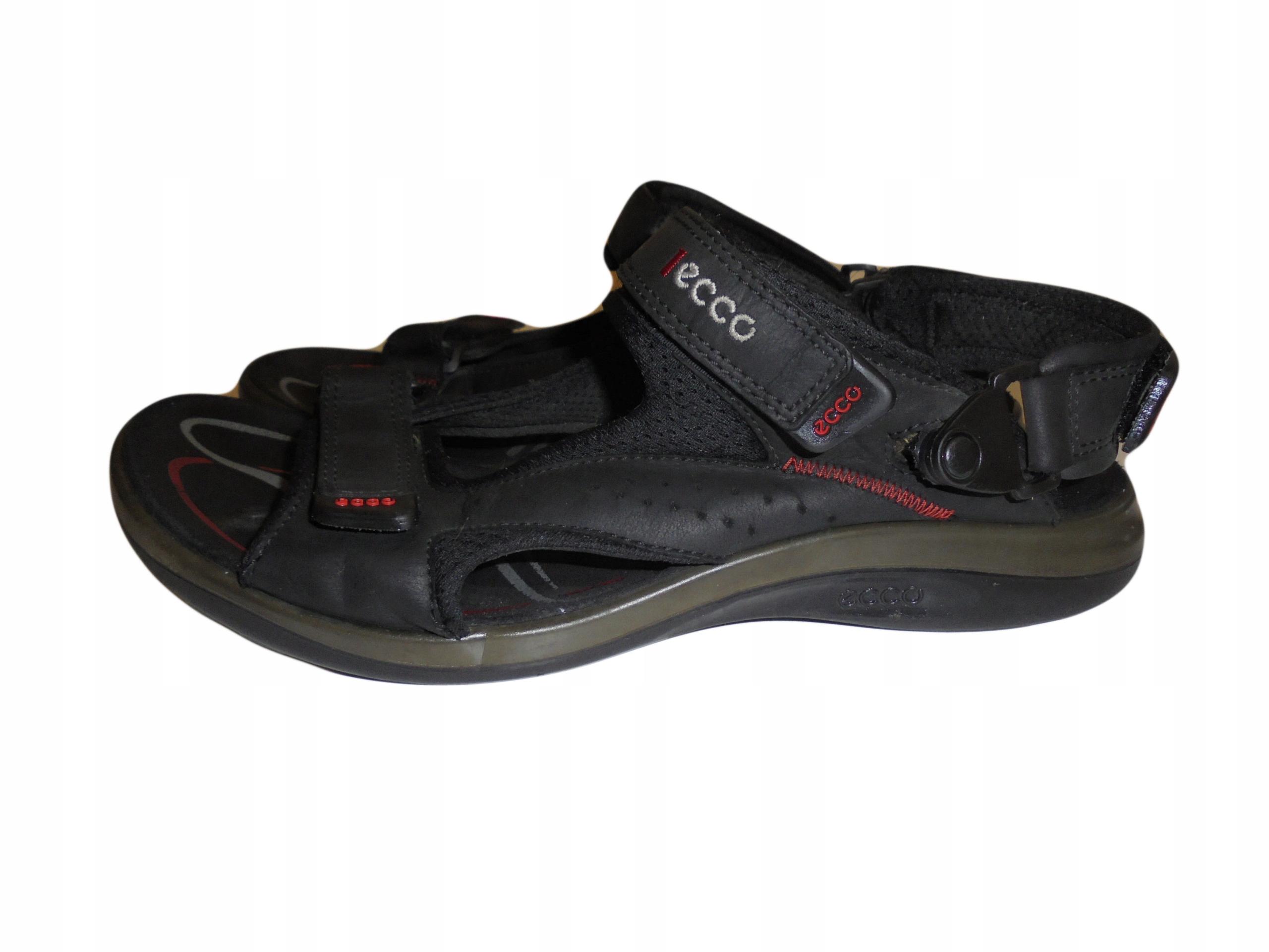 Skórzane sandały firmy Ecco. Rozmiar 46.