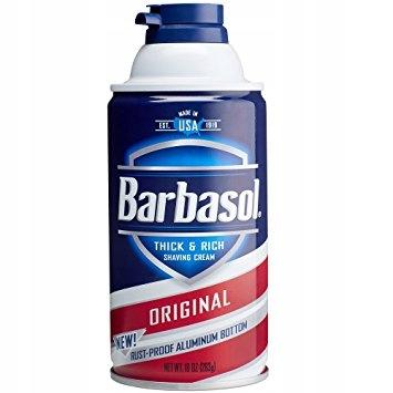 PIANKA DO GOLENIA BARBASOL ORIGINAL 283g z USA