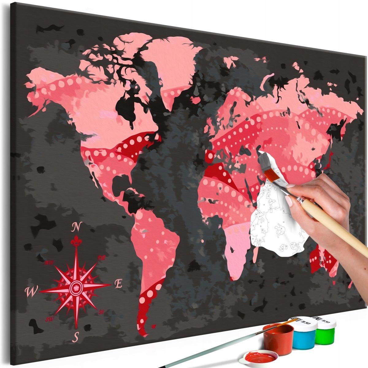 Obraz do samodzielnego malowania - Świat kinematog