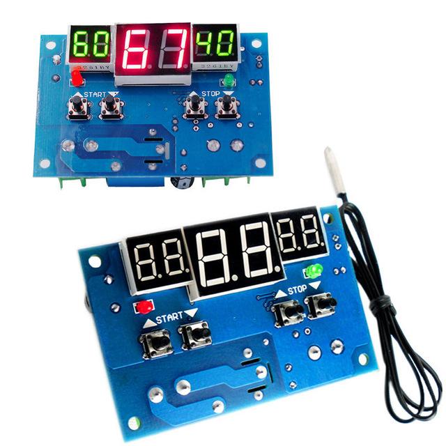 Regulowany Termostat W1401 Cyfrowy 12V -9C - 99C