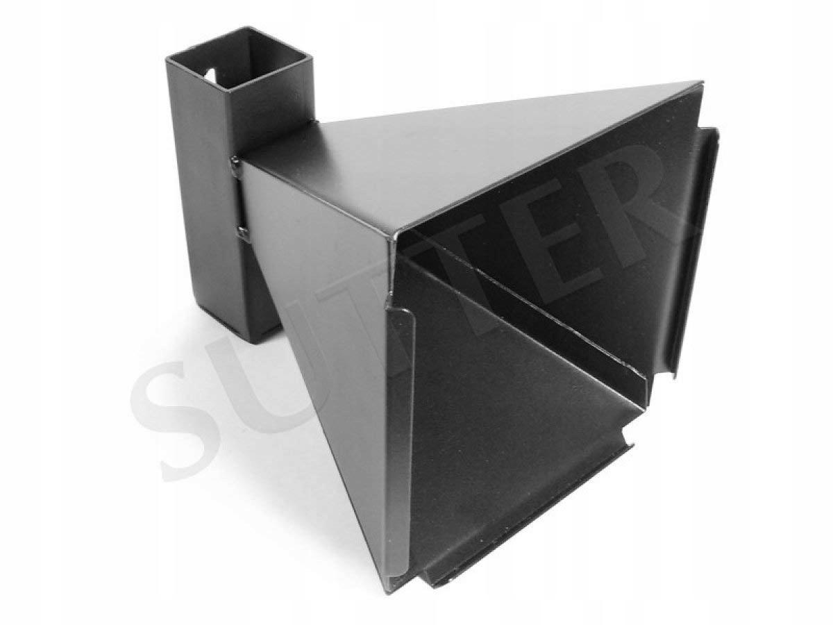 Kulochwyt wiatrówkowy stożkowy 14 x 14 cm z metalu