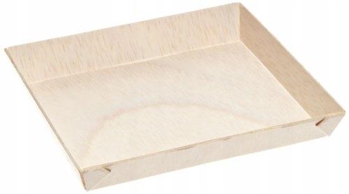PackNWood 210SAMBQ1313 Samurai Square Wooden Dish