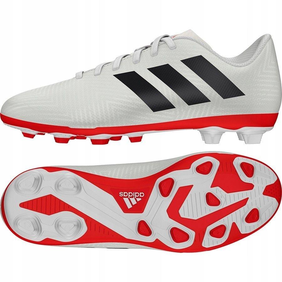 Buty adidas Nemeziz 18.4 FxG J CM8510 - BIAŁY; 30