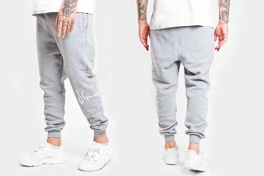 Spodnie Dresowe Stoprocent Jogger Kneetag Gre XL