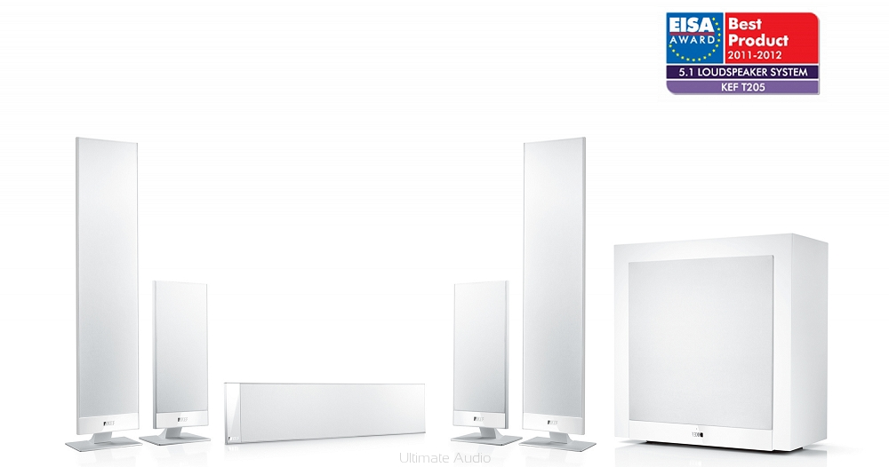 Kef T205 White Ultimate Audio