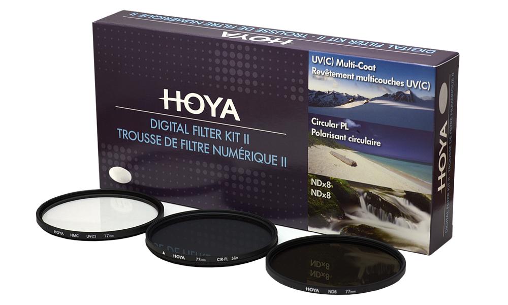 Zestaw HOYA DIGITAL FILTER KIT UV/CPL/ND8 - 58mm